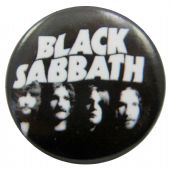 Black Sabbath - 'Group Heads' Button Badge